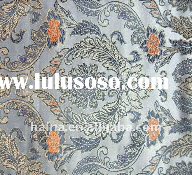 Yarn Dyed Jacquard Woven Curtain Fabric