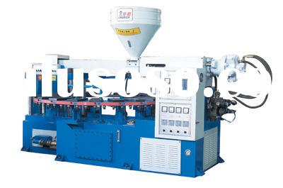 (TPR SOLE MACHINE)PVC TPR Shoe Soles Injection Molding Machine (Single Color) (KR8020)