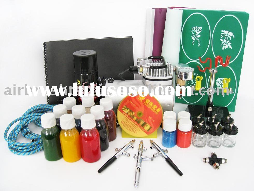 airbrush tattoo makeup kit