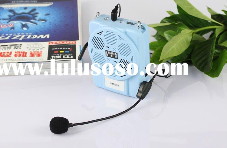 amplifier professional for teaching and tour guide etc, fashion and popular amplifier