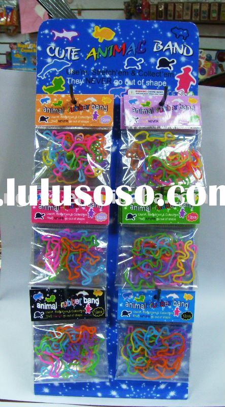 animal band,color rubber band ,rubber band