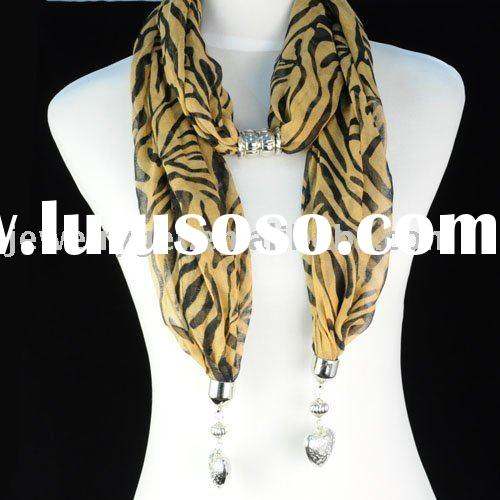 animal print jewelry ,cloth scarf necklaces ,costume necklace ,paypal ,free shipping ,nl-1002b