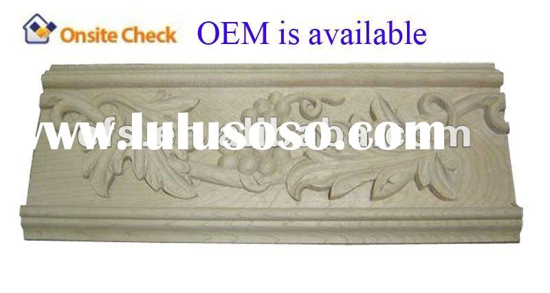 antique decorative hand carved wood molding(EFS-YCY-028)