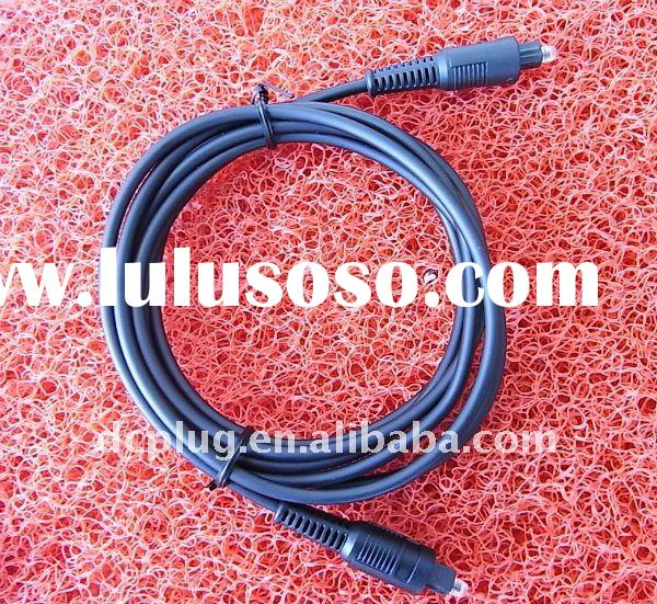 audio rca ,male connector cable,with pvc plastic mini pin usb cable,fang type optical fiber cable