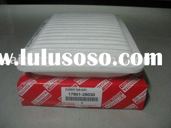 auto air filter for TOYOTA Camry 17801-28030