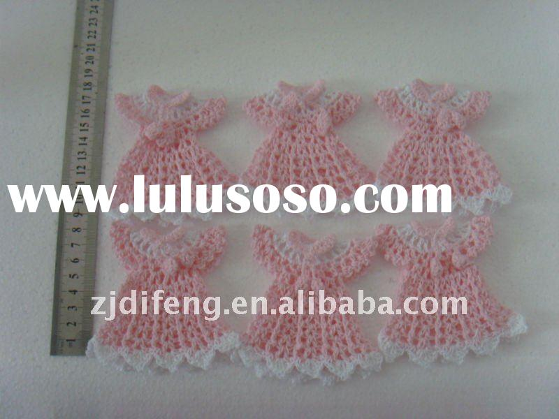 baby shower favor mini crochet dress wedding favor gifts