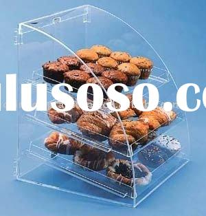 bakery display case , cake display stand , acrylic bakery display showcase, cake stand, donut displa