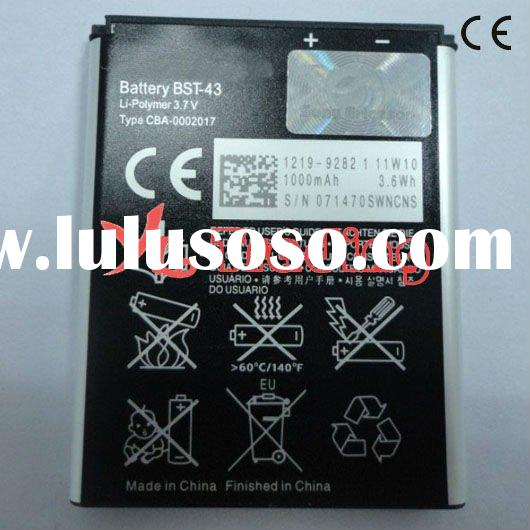 battery S001 mobile phone charger for Sony Ericsson