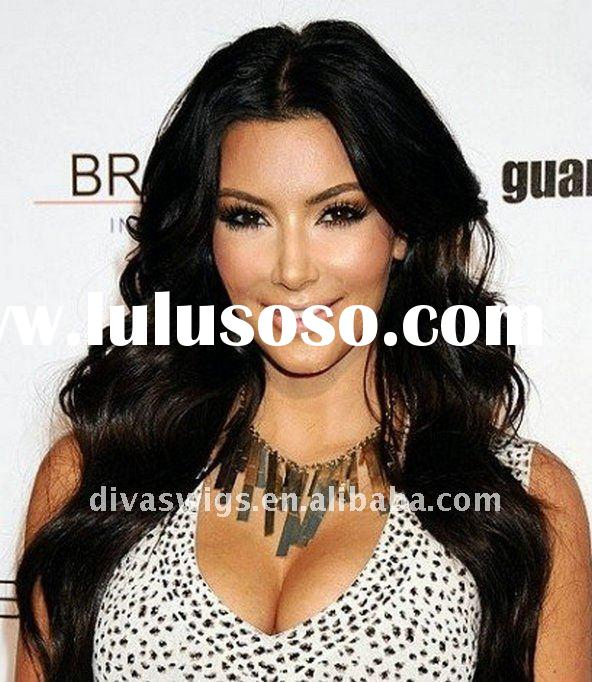 beautiful black wave indian remy human hair full lace wig for black women