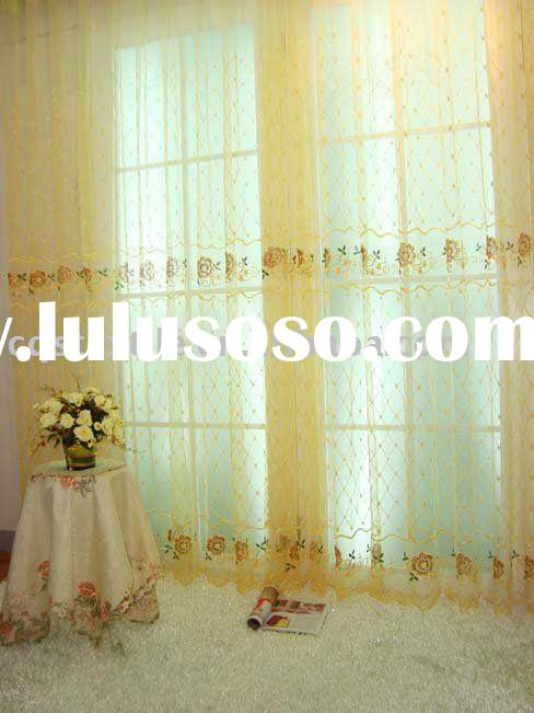 Fabric Shower Curtains Yellow | Decoration Empire