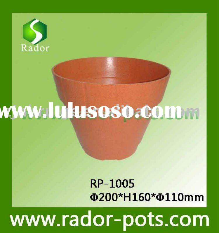 biodegradable garden flower pot
