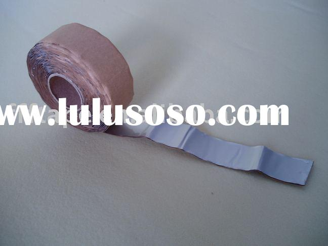butyl rubber tape (Aluminum)/rubber tape/adhesive tape/butyle tape/waterproofing tape