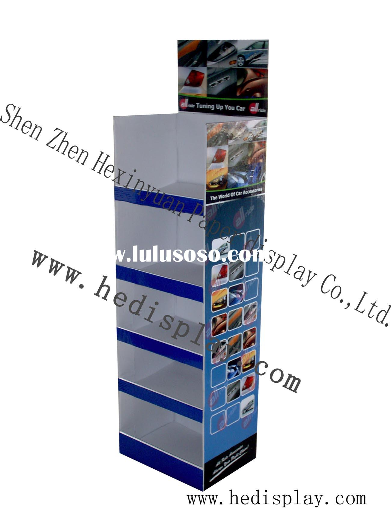 car accessories display, panel display, advertising equipment