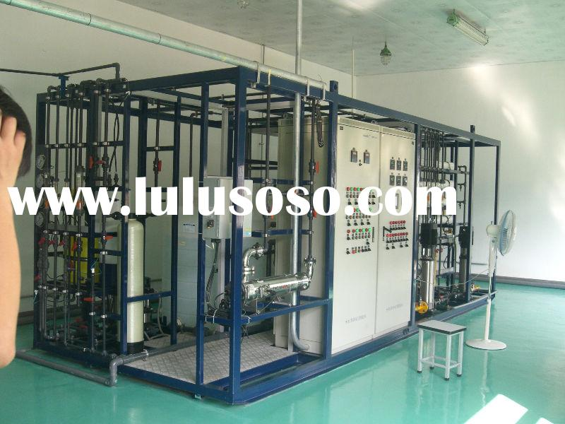 city water/underground water treatment, city water purification, mineral water