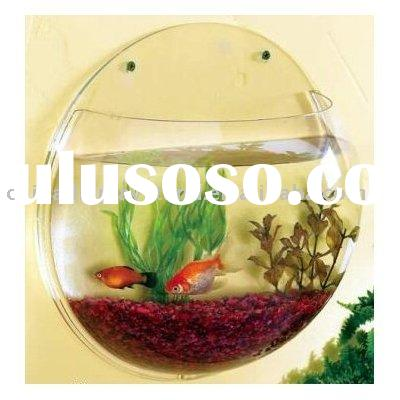 clear Acrylic Fish Tank/fish bowl/wall mounted aquarium