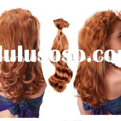 clip in hair extensions synthetic or human hair clip in hair extension