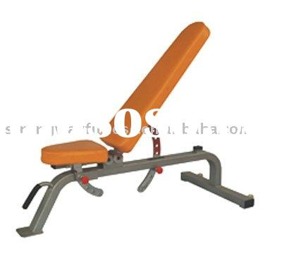 commercial fitness equipment -adjustable bench