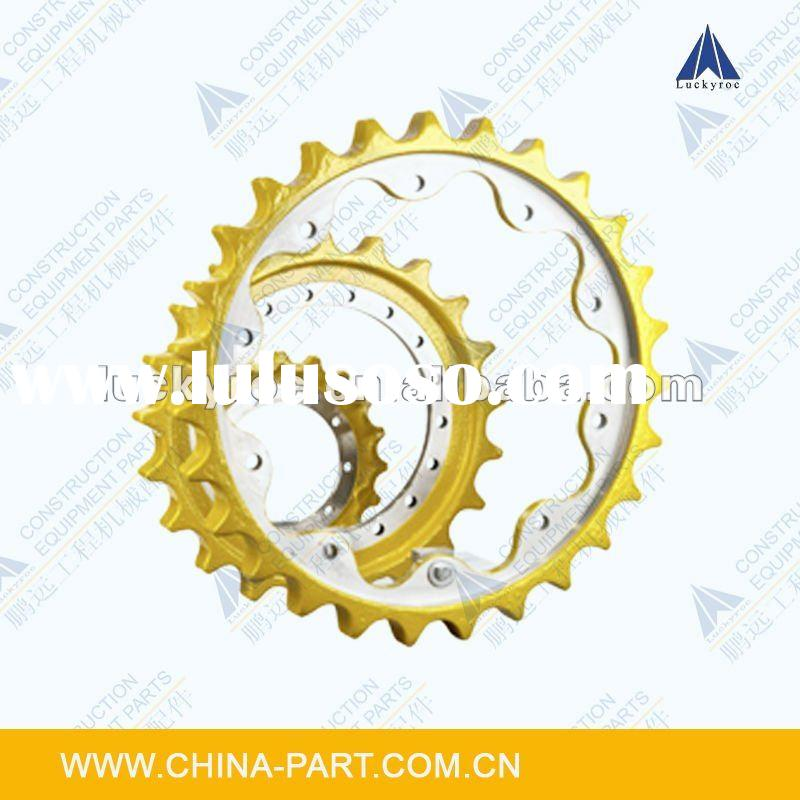 construction machinery parts,excavator parts,undercarriage parts,sprocket rim Komatsu Hitachi Kobelc