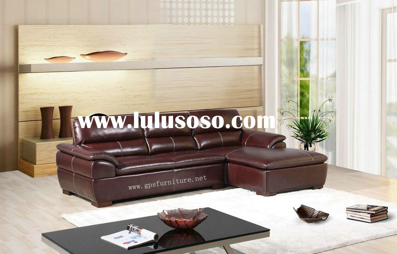 corner sofa, leather sofa . sofa .modern sofa L-135