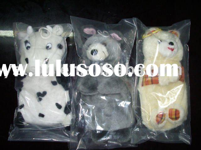 different animal covers for rubber hot water bottle