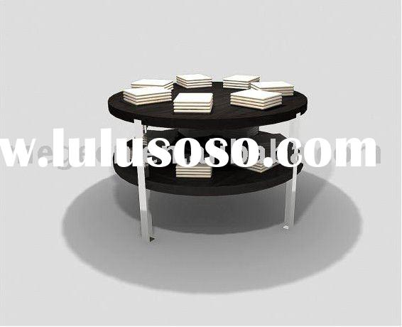 double-layer round display table