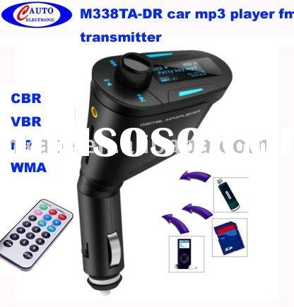 driver car mp3 player fm modulator sd usb line in M338TA-DR