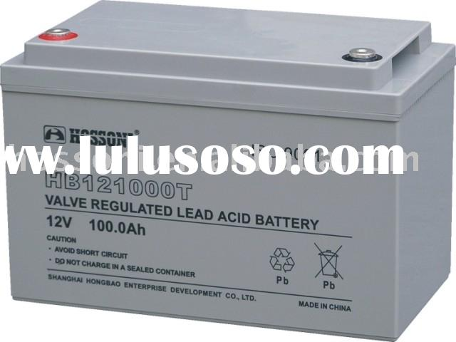 dry type deep cycle battery 12V/100AHT