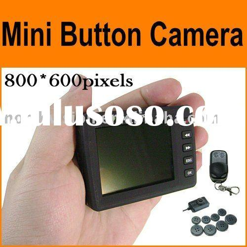 "eagle eye camera --2.5""LCD Button camera video recorder 800*600 with remote control"