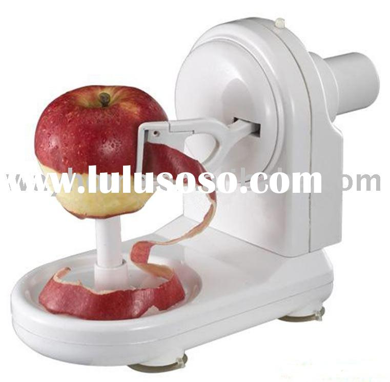 electric auto apple peeler,apple corer,apple cutter,apple divider,apple splitter,pear slicer,fruit k