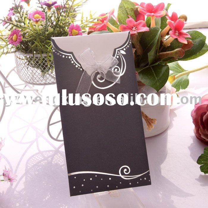 elegant wedding invitations/wedding cards/invitation cards -- T016