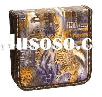 fashion CD bag & case,CD storage,CD holder with animal pattern