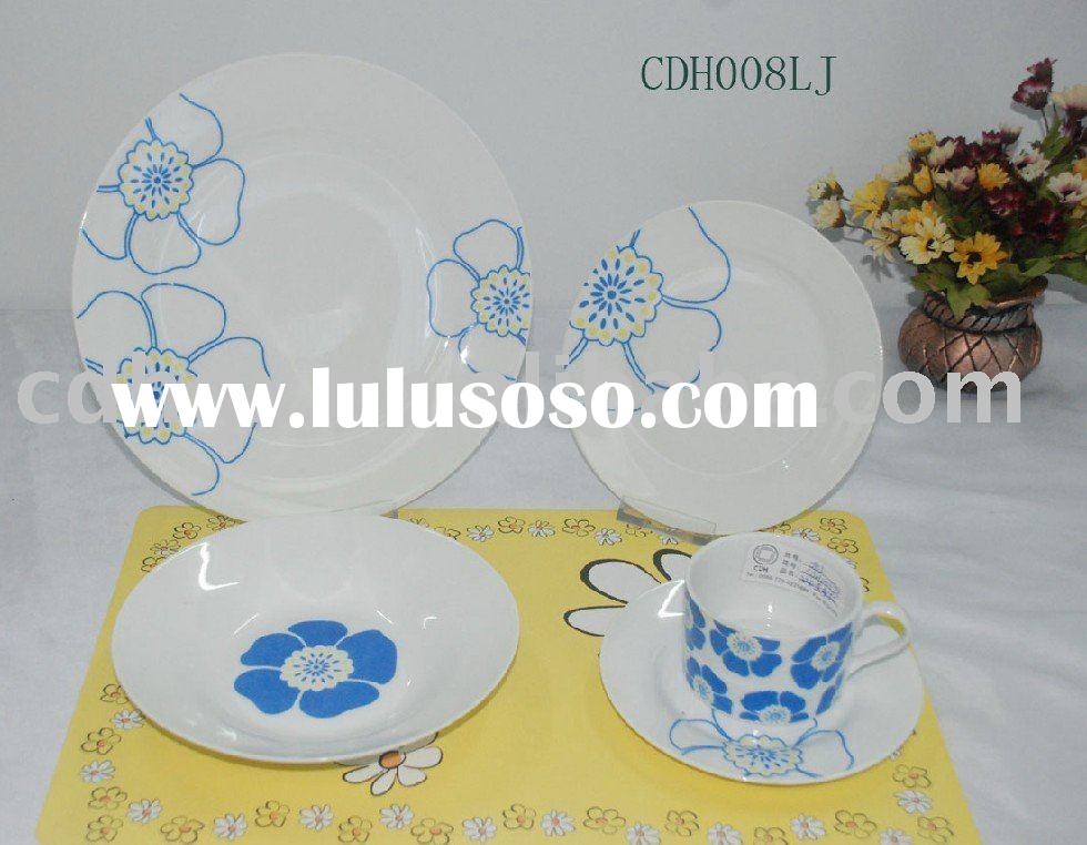 fine Japanese Porcelain style dinnerware porcelain dinner sets plates bowl cup coffee ste tea sets