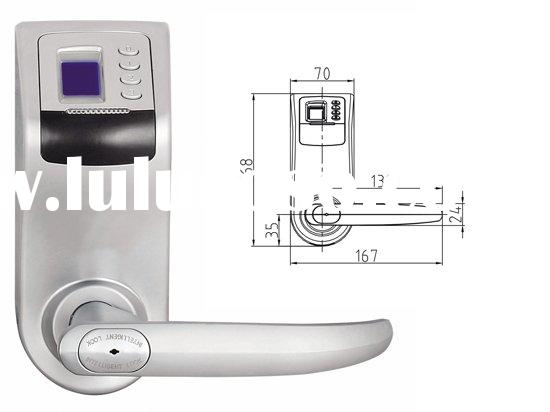 fingerprint lock door
