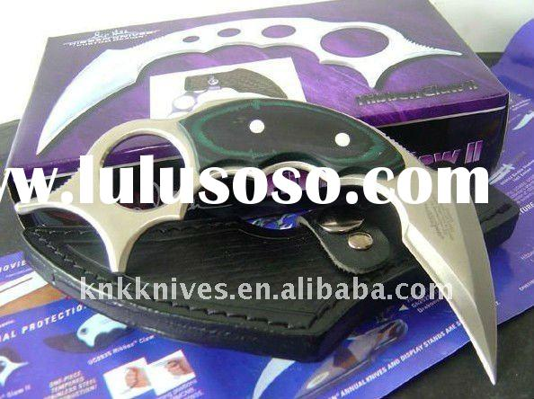 fixed blade karambit knife/ fixed blade claw knife / tiger claw knife