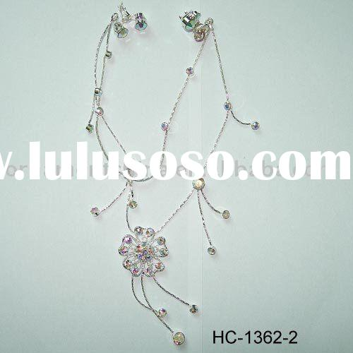 flower hair claw/diamante hair clip/hair ormaments/decorative headgear/fashion accessory(HC-1362)