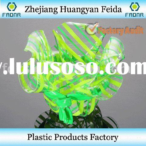flower pot, transparent flower pot, plastic flower pot