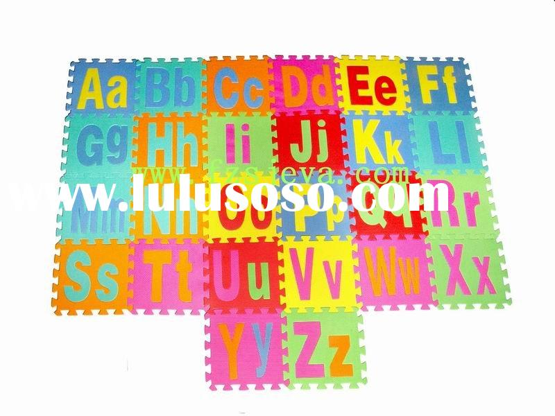 foam floor puzzles/puzzle play mat/jigsaw puzzle mat