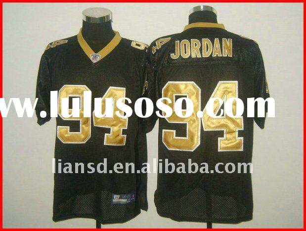 football jersey New Orleans Saints 94 Cameron Jordan black Jersey 100% stitched original jersey payp