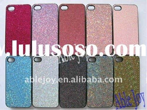 for Apple iPhone 4 / 4S Glitter Shiny Feather Design Hard Case, Shiny feather cover skin case