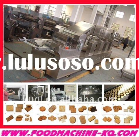 full automatic biscuit machine making line A