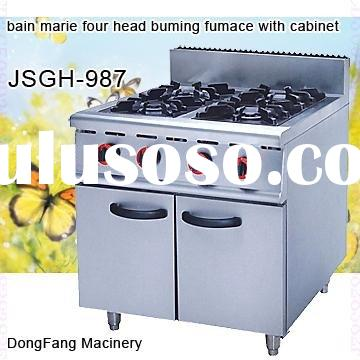 gas stove electric range with cabinet GH-987 ,kitchen equipment