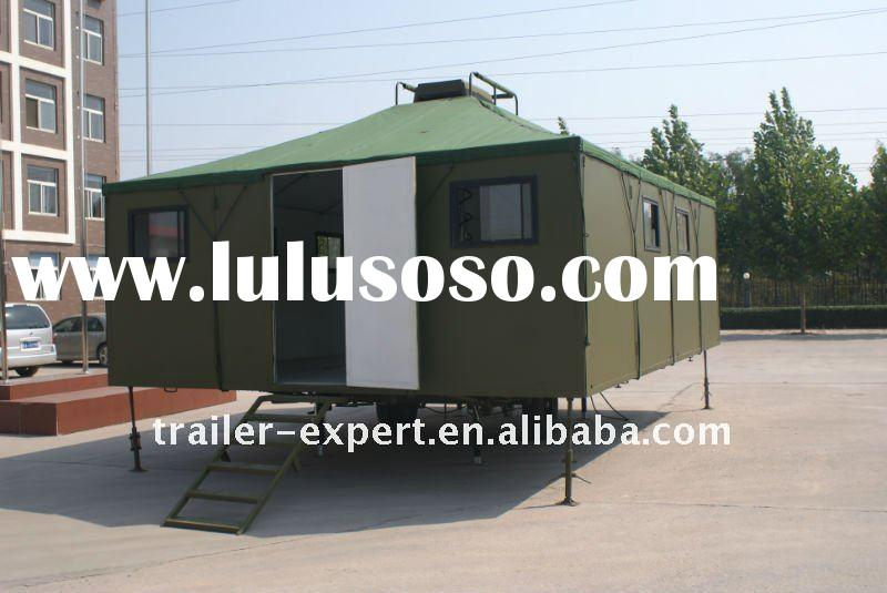 heavy duty mining/forestry/construction field camping trailer/ tent trailer
