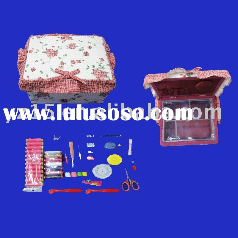 high grade sewing kit.top grade sewing thread box for home and top grade hotel hold/top grade sewing
