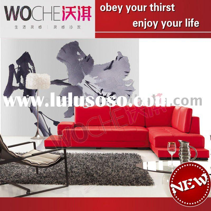 hot sale modern leather furniture sofa set(WQ6825)