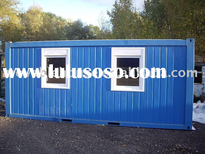 house container building