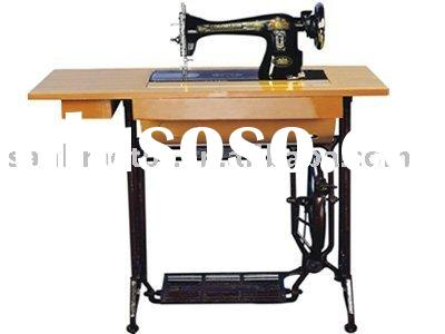 household domestic sewing machine with stand and table