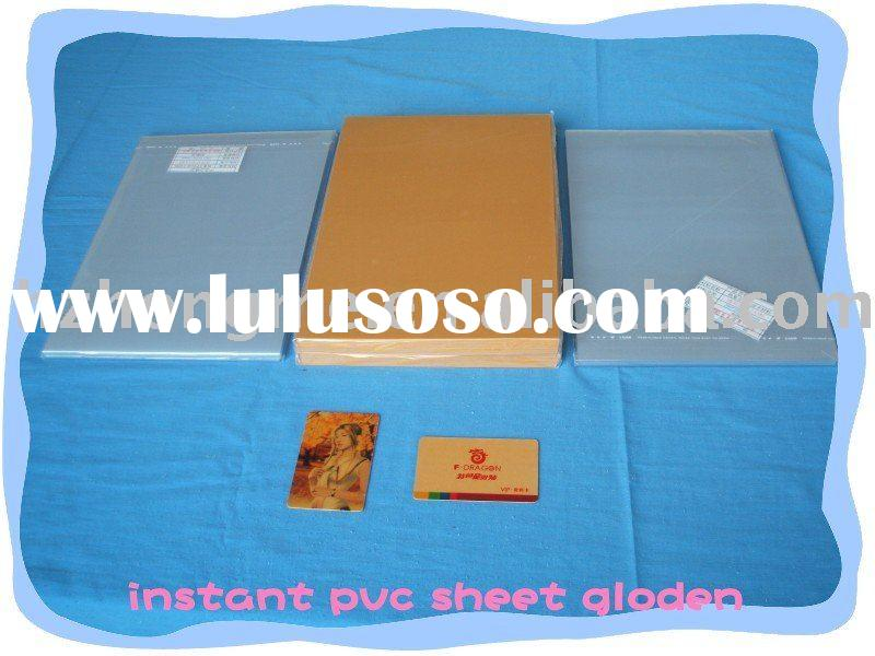 inkjet print pvc sheets/pvc material for making cards/printable pvc sheet for inkjet printing