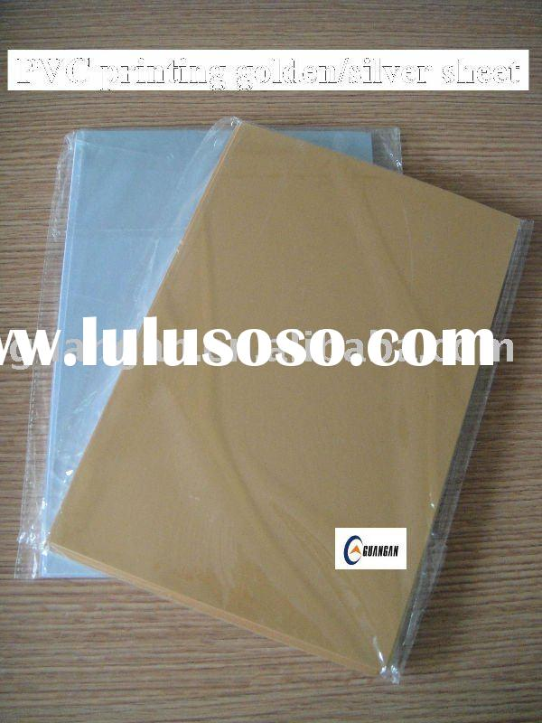 inkjet printable pvc plastic sheet for card making