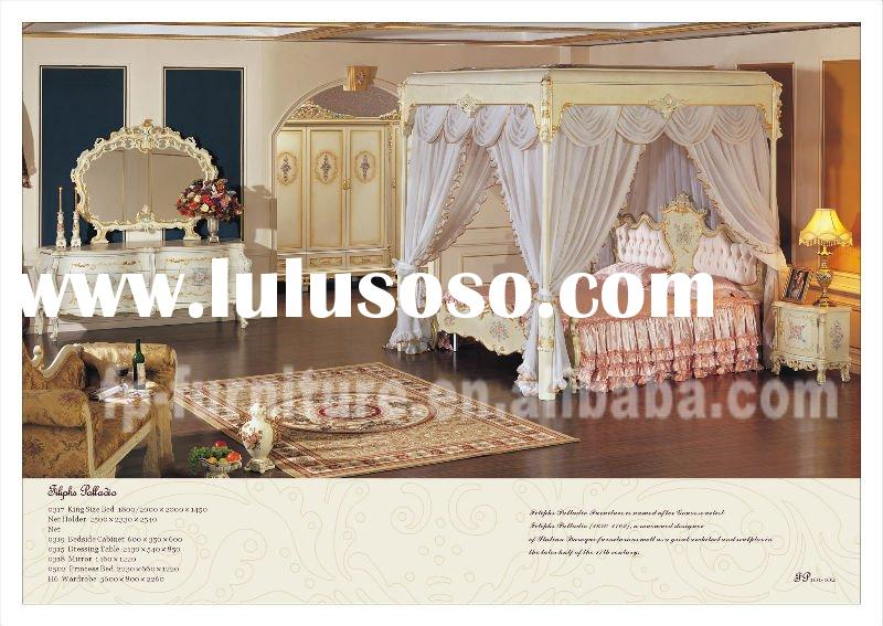 italian french antique furniture - bedroom set