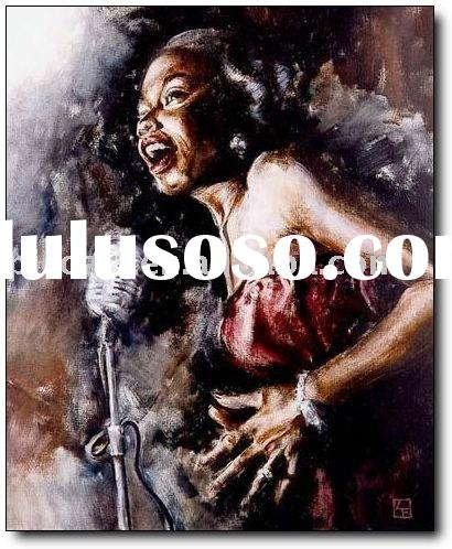 jazz oil paintings handpainted music painting on canvas with high quality